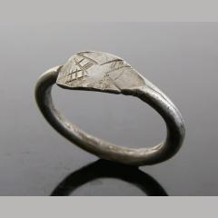 Post Roman Dark Ages Silver Ring