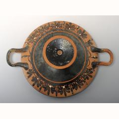 Large Greek Attic Terracotta Kylix