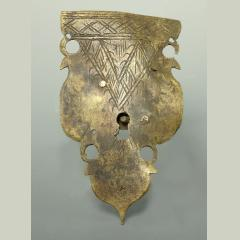 17Th Century Brass Lock Escutcheon