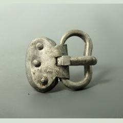 Germanic Silver Buckle