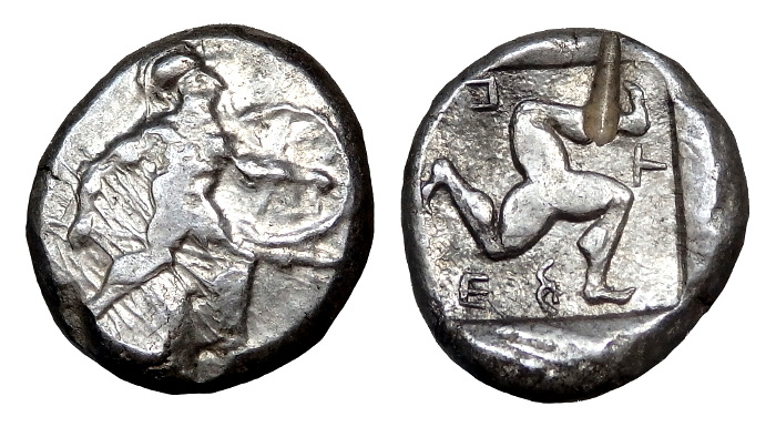 Aspendos, Pamphylia 465-430 BC. AR Stater (25mm; 10.9 gm
